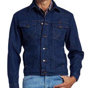 Men's Western Unlined Denim Jacket